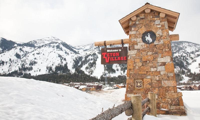 Teton Village Jackson Hole Mountain Resort Wyoming